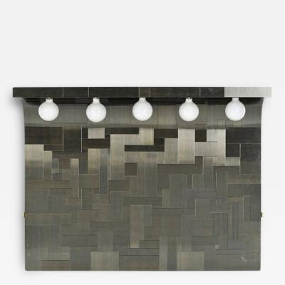 Paul Evans Cityscape Headboard with Lights Paul Evans for Directional