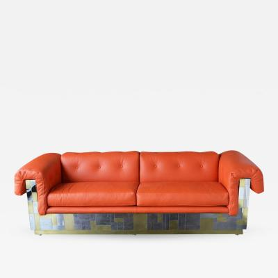 Paul Evans Cityscape Sofa by Paul Evans