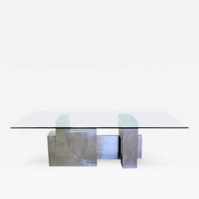 Paul Evans Cityscape Table Base by Paul Evans for Directional