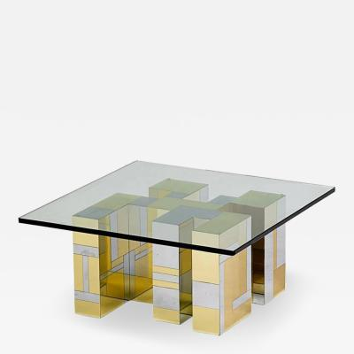 Paul Evans Cityscape Table by Paul Evans for Directional