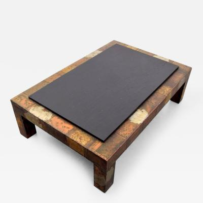 Paul Evans Large Paul Evans Patchwork Coffee Table Circa 1965