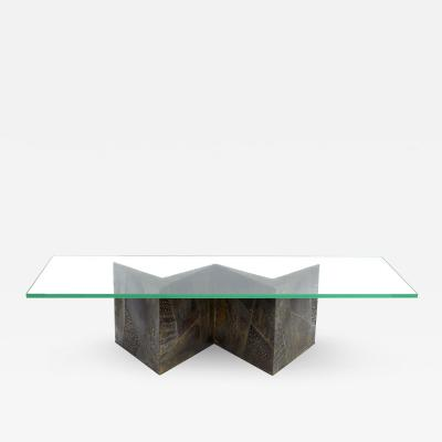 Paul Evans Model PE 11 Coffee Table by Paul Evans