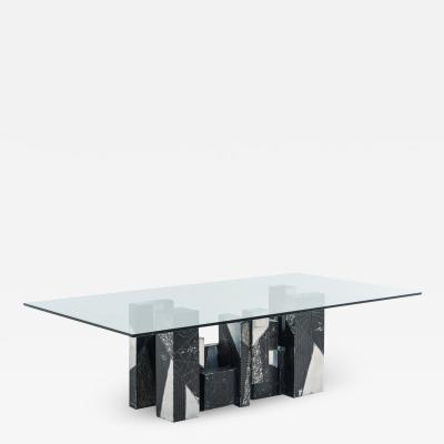 Paul Evans Paul Evans Argente Skyline Dining Table USA