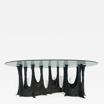 Paul Evans Paul Evans Brutalist Bronze Stalagmite Dining Table