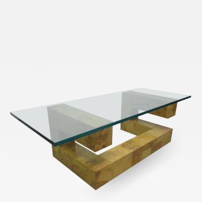 Paul Evans Paul Evans Burl Wood Coffee Table