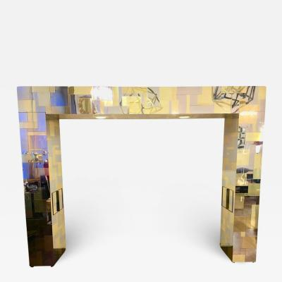 Paul Evans Paul Evans Cityscape Series Illuminated Headboard