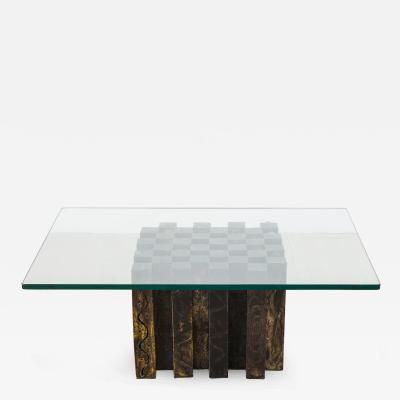 Paul Evans Paul Evans Coffee Chess Table USA 1969