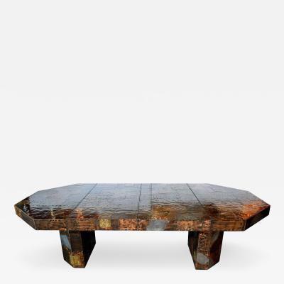 Paul Evans Paul Evans Custom Patchwork Dining Table