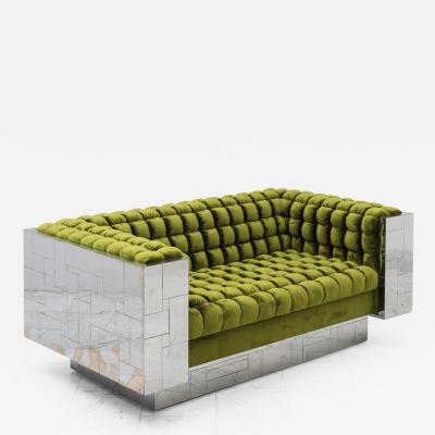 Paul Evans Paul Evans Directional Cityscape Sofa c 1970