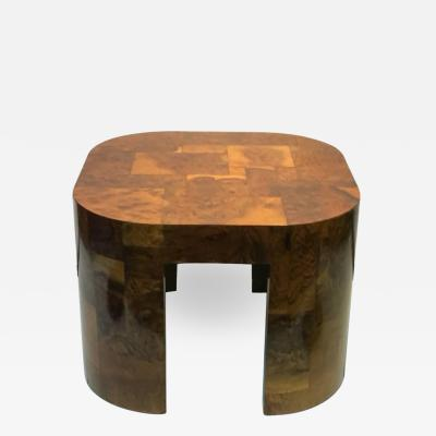 Paul Evans Paul Evans Patchwork Burlwood Coffee Table or Center Table
