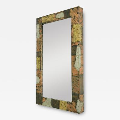 Paul Evans Paul Evans Patchwork Mirror