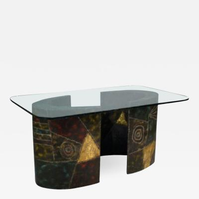 Paul Evans Paul Evans Pedestal Dining Table for Directional