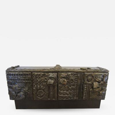 Paul Evans Paul Evans Sculpted Bronze Cabinet