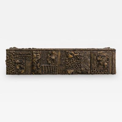 Paul Evans Paul Evans Sculpted Bronze Console USA 1970
