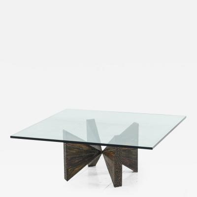 Paul Evans Paul Evans Sculpted Steel Cocktail Table PE 12 42 USA