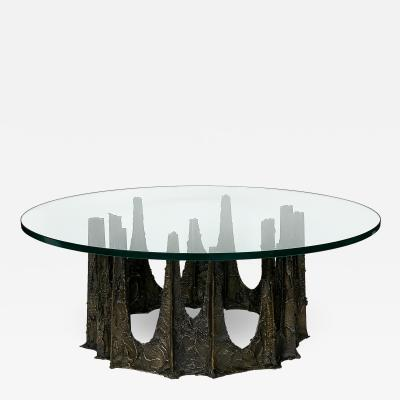 Paul Evans Paul Evans Stalagmite Brutalist Coffee Table 1969