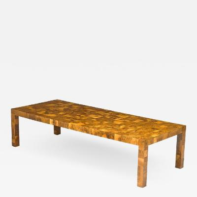 Paul Evans Paul Evans for Directional Cityscape Patchwork Dining Table