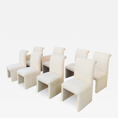 Paul Evans SUITE OF EIGHT DINING CHAIRS IN THE MANNER OF PAUL EVANS