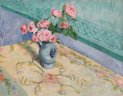 Paul Ferdinand Gachet Bouquet de Roses