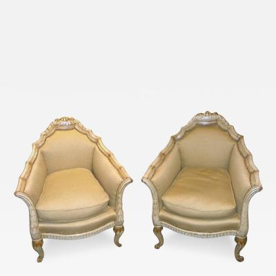 Paul Follot French Art Deco Chairs in the style of Paul Follot