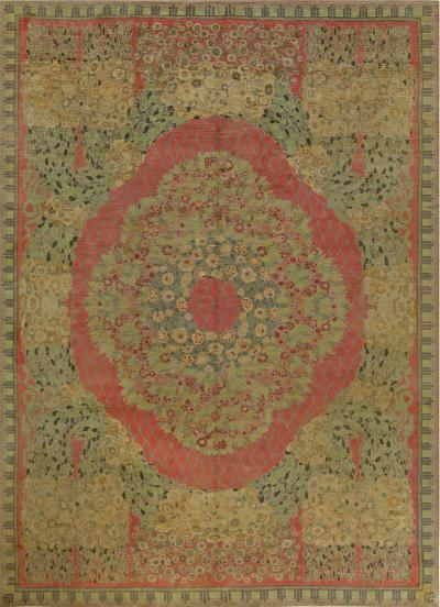 Paul Follot Vintage French Deco Rug by Paul Follot