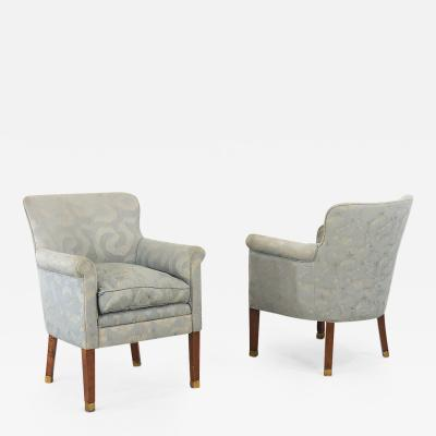 Paul Follot paul follot pair armchairs 1930
