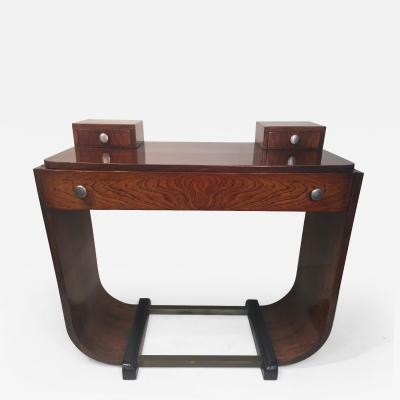Paul Frankl ART DECO U BAND CONSOLE TABLE