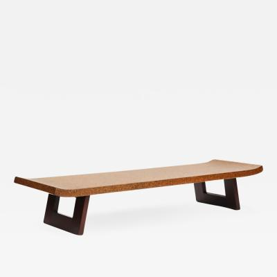Paul Frankl Cork Low Table by Paul Frankl