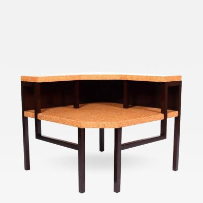Paul Frankl Corner Table by Paul Frankl for Johnson Furniture