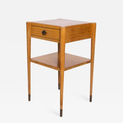 Paul Frankl MidCentury Modern Paul Frankl by Brown Saltman Side Table End Table in Mahogany