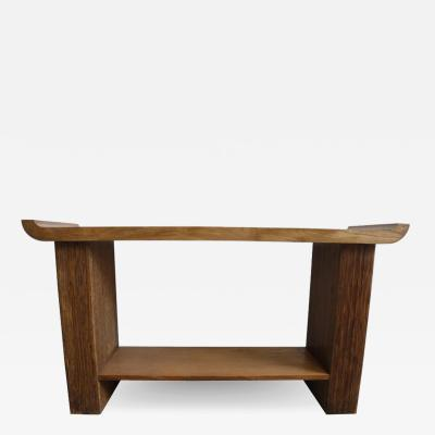 Paul Frankl Oak Console or Sofa Table by Paul Frankl for Brown Saltman