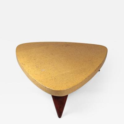 Paul Frankl PAUL FRANKL CORK TOP COFFEE TABLE FOR JOHNSON FURNITURE