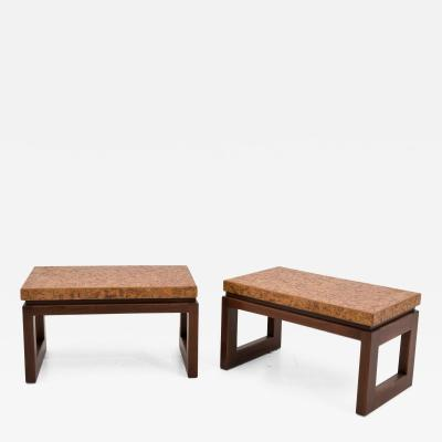 Paul Frankl Pair of Side Tables