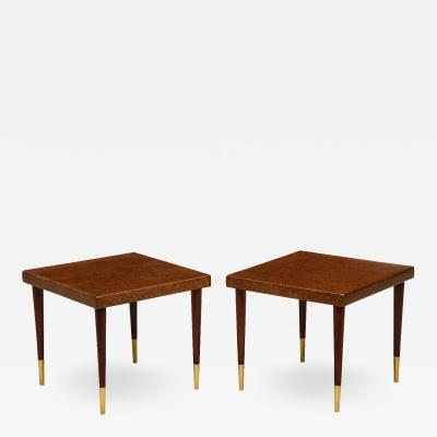 Paul Frankl Pair of Side Tables by Paul Frankl