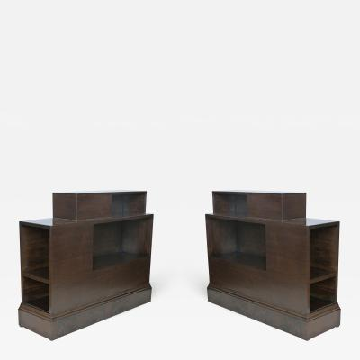 Paul Frankl Pair of Skyscraper Side Tables by Paul Frankl