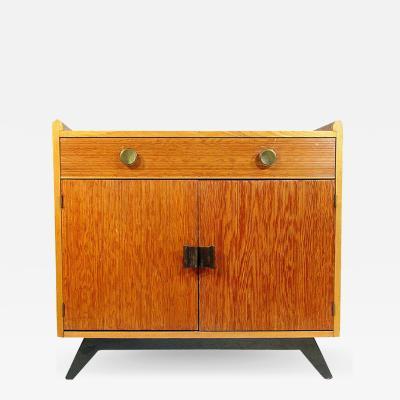 Paul Frankl Paul Frankl Combed Wood Cabinet for Brown Saltman
