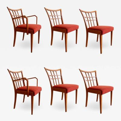 Paul Frankl Paul Frankl Set of Six Dining Room Chairs