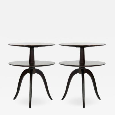 Paul Frankl Set of Side Tables by Paul Frankl for Brown Saltman c 1950s