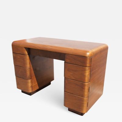 Paul Goldman Bentwood Desk by Paul Goldman for Plymold