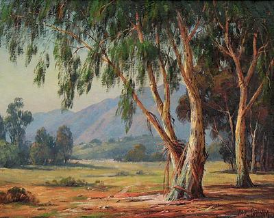 Paul Grimm Eucalyptus Griffith Park by Paul Grimm