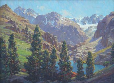 Paul Grimm South Palisades High Sierra by Paul Grimm