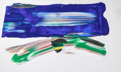 Paul Jenkins Large Original 1979 Paul Jenkins Painting