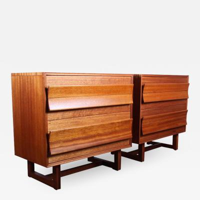 Paul L szl Pair of Cabinets by Paul Laszlo for Brown Saltman