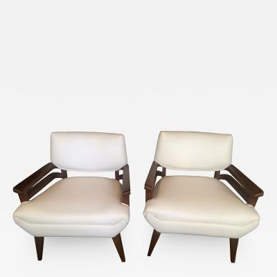 Paul L szl Pair of Paul Laszlo Lounge Chairs