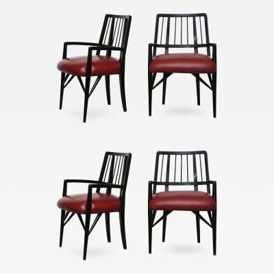 Paul L szl Set of Four Custom Designed Dining Chairs by Paul L szl