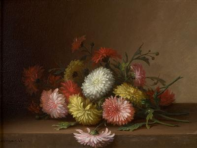 Paul LaCroix Still Life with Mums