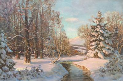 Paul Lauritz After the Snow