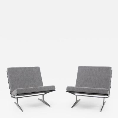 Paul Liedersdorff Rare Pair of Caravelle Lounge Chairs Designed by Paul Liedersdorff
