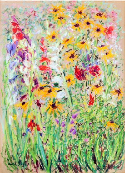 Paul Lucien Maze Field Flowers 1972