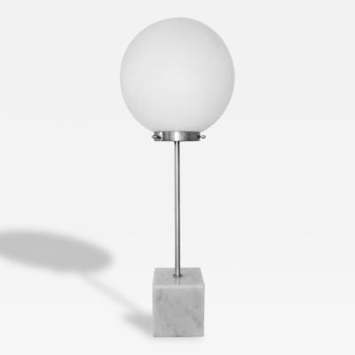 Paul Mayen Marble Base Ball Lamp